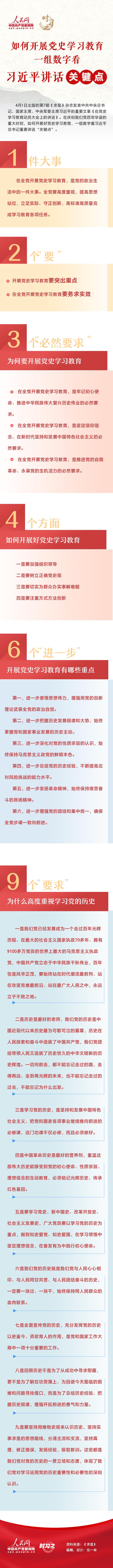 """【广东海洋大学】如何开展党史学习教育 一组数字看习近平讲话""""关键点"""""""